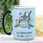 Mother's Day Gift - Mommy Shark Ceramic Mug QA15032107