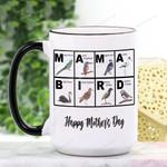 Mother's Day Gift - Mama Bird Ceramic Mug KH15032116