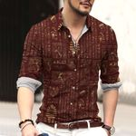 Egypt Cotton And Linen Casual Shirt CH15032114