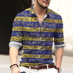 Egypt Cotton And Linen Casual Shirt CH15032115