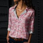 Flamingo Cotton And Linen Casual Shirt QA16032110
