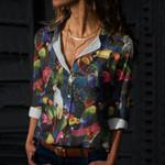 Parrots Cotton And Linen Casual Shirt QA16032113