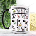 Mother's Day Gift - Best Bird Mum Ever - Waterfowl Ceramic Mug KH16032104