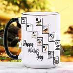 Mother's Day Gift - Grandma Bird - Birdwatching - Waterfowl  Ceramic Mug KH16032105
