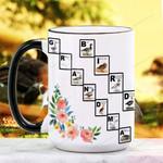 Mother's Day Gift - Grandma Bird - Birdwatching - Waterfowl  Ceramic Mug KH16032106