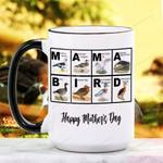 Mother's Day Gift - Mama Bird - Birdwatching - Waterfowl Ceramic Mug KH16032107