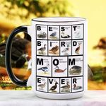 Mother's Day Gift - Best Bird Mom Ever - Waterfowl Ceramic Mug KH16032108