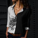 Octopus Cotton And Linen Casual Shirt QA17032101