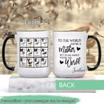 Mother's Day Gift - Best Mama Ever - Sandpipers - Birdwatching Personalized Ceramic Mug KHBM17032103