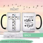 Mother's Day Gift - Mom - Birdwatching Personalized Ceramic Mug KHBM17032104