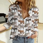 Donkeys Cotton And Linen Casual Shirt QA19032102