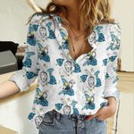 Lion And Toucan Cotton And Linen Casual Shirt QA23032102