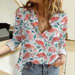 Chameleon Garden Cotton And Linen Casual Shirt QA23032108