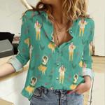 Halu Hawaii Cotton And Linen Casual Shirt QA23032114