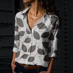 Guinea Hens Cotton And Linen Casual Shirt QA24032102