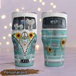 Mother's Day Gift - Hippie Van - Elephant Tumbler KH24032105