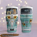 Mother's Day Gift - Hippie Van - Lion Tumbler KH24032107