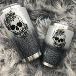 Skull And Rose Tumbler CH26032121