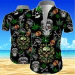 Skull Men's Hawaii Shirt KH26032103