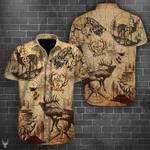 Deer Hunting Men's Hawaii Shirt KH26032107