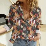 Chickens Cotton And Linen Casual Shirt QA29032111
