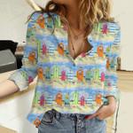 Summer Beach Cotton And Linen Casual Shirt KH30032102