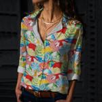 Summer Beach Cotton And Linen Casual Shirt KH30032103