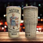 Mother's Day Gift - Gift to Grandma - Embroidery Tumbler KH30032116