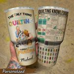 Mother's Day Gift - Gift to Grandma - Quilting Tumbler KH31032124