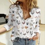 Chickens Cotton And Linen Casual Shirt QA01042109