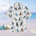 US Kingfishers - Birdwatching  Men's Hawaii Shirt + Men's Beach Short KH26032101