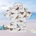 US Waxbills And Allies - Birdwatching  Men's Hawaii Shirt + Men's Beach Short KH24032103