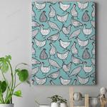 Chicken Hen Canvas Prints Type A QA23032101