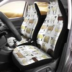 Breeds Of Sheep Car Seat Cover QA30032110