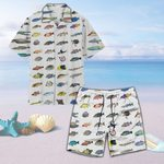 Caribbean Reef Life - Scuba Diving Unisex Hawaii Shirt+ Beach Short QA280110