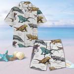 Iguanas Of The World - Lizard - Reptile Unisex Hawaii Shirt+ Beach Short KH020203