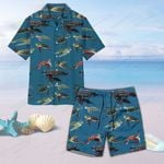 Sea Turtles Of The World Unisex Hawaii Shirt+ Beach Short QA280106