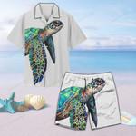 Sea Turtle Unisex Hawaii Shirt+ Beach Short QA290102