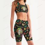 Weed Women's Sport Bra + Biker Short KH06042108