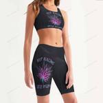 Weed Women's Sport Bra + Biker Short KH07042106