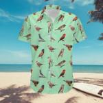 US Waxbills And Allies - Birdwatching Unisex Hawaii Shirt KH24032103