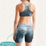 Tuna Fishing - Women's Sport Bra + Biker Short KH15042102