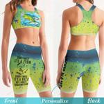 Mahi Fishing Women's Sport Bra + Biker Short KH16042101