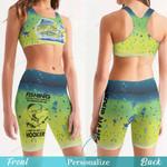 Mahi Fishing Women's Sport Bra + Biker Short KH16042105