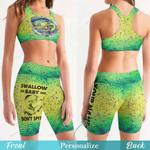 Mahi Fishing Women's Sport Bra + Biker Short KH16042110