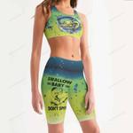 Mahi Fishing Women's Sport Bra + Biker Short KH16042112