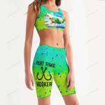 Mahi Fishy Women's Sport Bra + Biker Short KH19042105