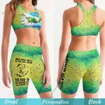 Fishing Women's Sport Bra + Biker Short KH19042107