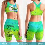 Fishing Women's Sport Bra + Biker Short KH19042108