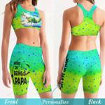 Fishing Women's Sport Bra + Biker Short KH19042110